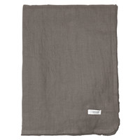 Home Napkin, table cloth, place mats Broste Copenhagen GRACIE Grey