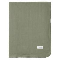 Home Napkin, table cloth, place mats Broste Copenhagen GRACIE Green / Sage
