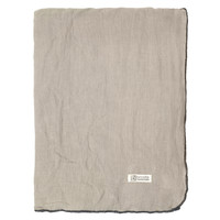 Home Napkin, table cloth, place mats Broste Copenhagen GRACIE Taupe