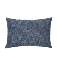 Home Cushions covers Broste Copenhagen MUSHROOM Blue / Night