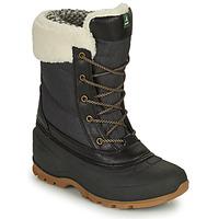 Shoes Women Snow boots KAMIK SNOWPEARL Black