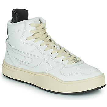 Shoes Men High top trainers Diesel S-UKIYO MID White