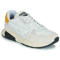 Shoes Men Low top trainers Diesel S-TYCHE LL White / Yellow