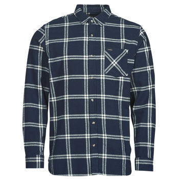 material Men long-sleeved shirts Rip Curl CHECKED OUT L/S FLANNEL Blue