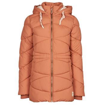 material Women Duffel coats Rip Curl ANTI SERIES SWC JACKET Terracotta
