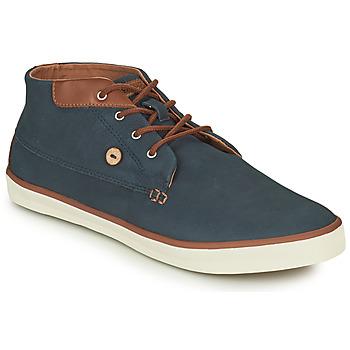 Shoes Men High top trainers Faguo WATTLE Marine / Brown