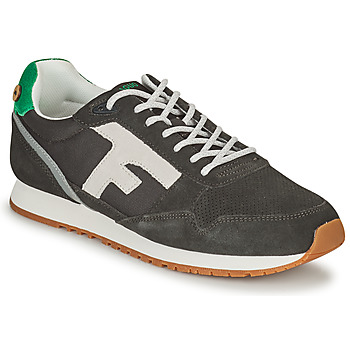 Shoes Men Low top trainers Faguo ELM Grey / Green / White