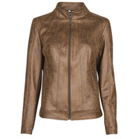 material Women Leather jackets / Imitation leather Desigual COMARUGA Brown