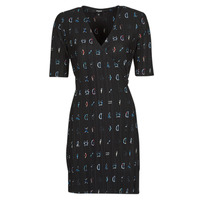 material Women Short Dresses Desigual SOLE Black