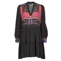 material Women Short Dresses Desigual SOLSONA Black