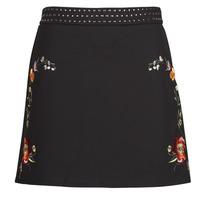 material Women Skirts Desigual INAYA Black