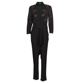 material Women Jumpsuits / Dungarees Desigual NIAGARA Black