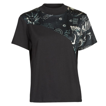 material Women short-sleeved t-shirts Desigual GRACE HOPPER Black