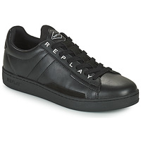 Shoes Men Low top trainers Replay PINCH BASE MAN Black