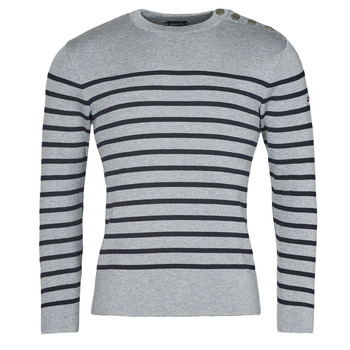 material Men jumpers Armor Lux PULL GOULENEZ Blue / Grey