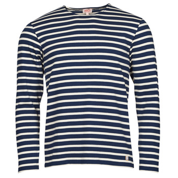 material Men Long sleeved shirts Armor Lux MARINIERES RUSTIQUE BIO GA1 Blue