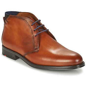 Shoes Men Mid boots Lloyd PATRIOT Cognac