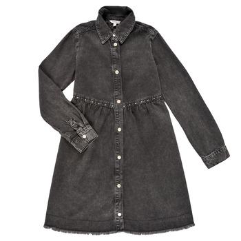 material Girl Short Dresses Pepe jeans FLORIDA DRESS Black