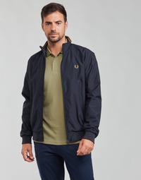 material Men Blouses Fred Perry BRENTHAM JACKET Marine