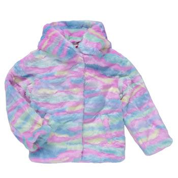 material Girl coats Desigual CONGO Multicolour