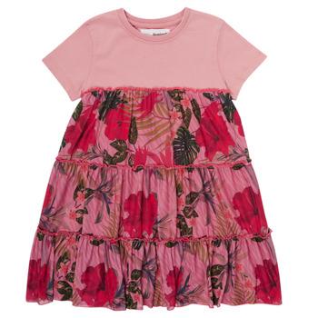 material Girl Short Dresses Desigual ZAFIRO Pink