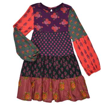 material Girl Short Dresses Desigual CELIA Multicolour