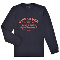 material Boy Long sleeved shirts Quiksilver CLOSED CAPTION LS Marine