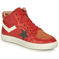 Shoes Boy High top trainers Bisgaard ISAK Red
