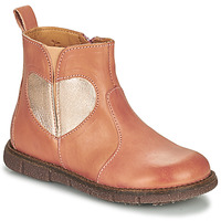 Shoes Girl Mid boots Bisgaard MAGGIE Pink / Silver