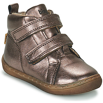 Shoes Girl High top trainers Bisgaard DEE Silver