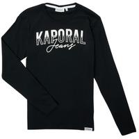 material Boy Long sleeved shirts Kaporal JODLE Black