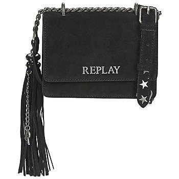 Bags Women Shoulder bags Replay FW3001-009 Black