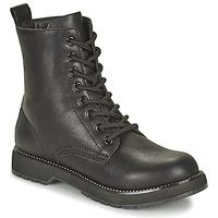 Shoes Women Mid boots Café Noir ETELA Black