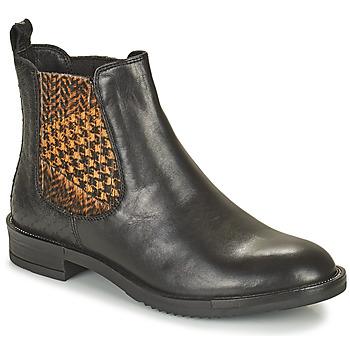 Shoes Women Mid boots Café Noir FRETINA Black