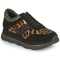 Shoes Women Low top trainers Café Noir BORDA Black / Leo
