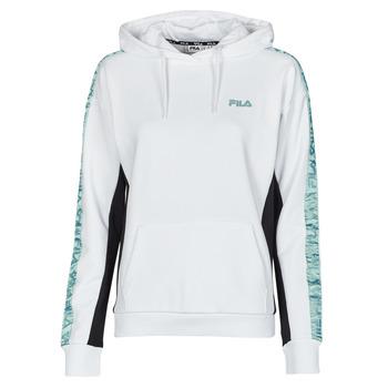 material Women sweaters Fila NAGE HOODY White