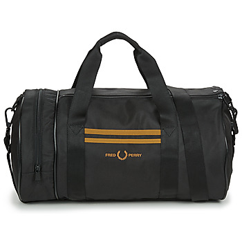 Bags Men Sports bags Fred Perry TWIN TIPPED BARREL BAG Black