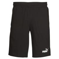 material Men Shorts / Bermudas Puma ESS JERSEY SHORT Black