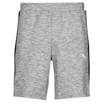 material Men Shorts / Bermudas Puma EVOSTRIPE SHORTS 8 Grey / Black