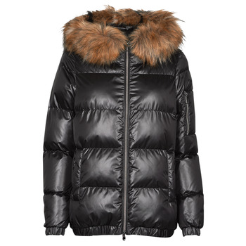 material Women Duffel coats Geox BAKSIE Black