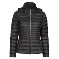 material Women Duffel coats Geox JAYSEN HOOD Black