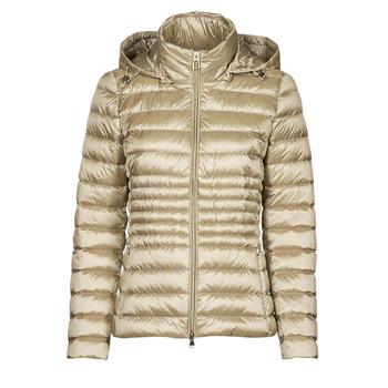material Women Duffel coats Geox JAYSEN HOOD Ecru