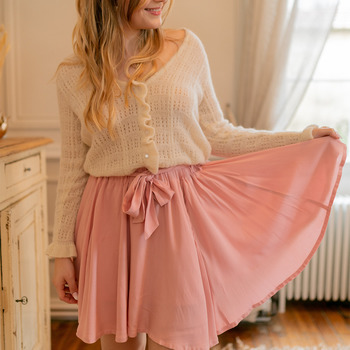 material Women Skirts Céleste EGLANTINE Pink