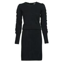 material Women Short Dresses Kaporal DULL Black