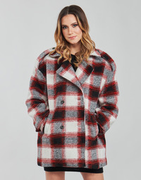 material Women coats Kaporal FEO Beige / Red