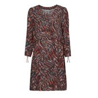 material Women Short Dresses One Step FT30121 Red / Multicolour