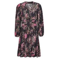 material Women Short Dresses One Step FT30101 Black / Multicolour