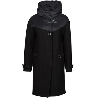 material Women coats One Step FT44041 Black