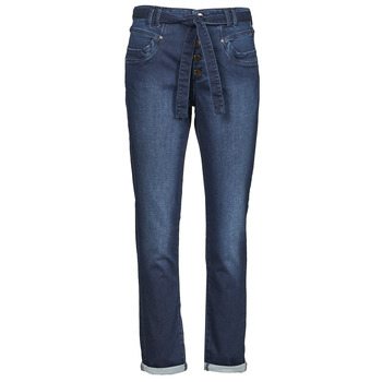 material Women 5-pocket trousers One Step FT29111 Blue