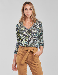 material Women Blouses One Step FT10071 Green